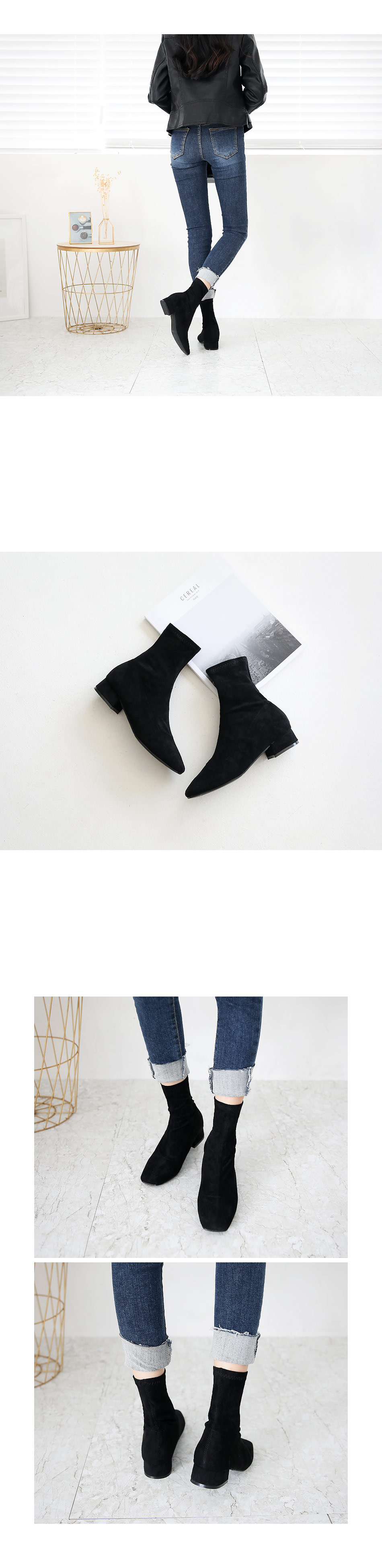 Tofin sox ankle boots 3,5 cm