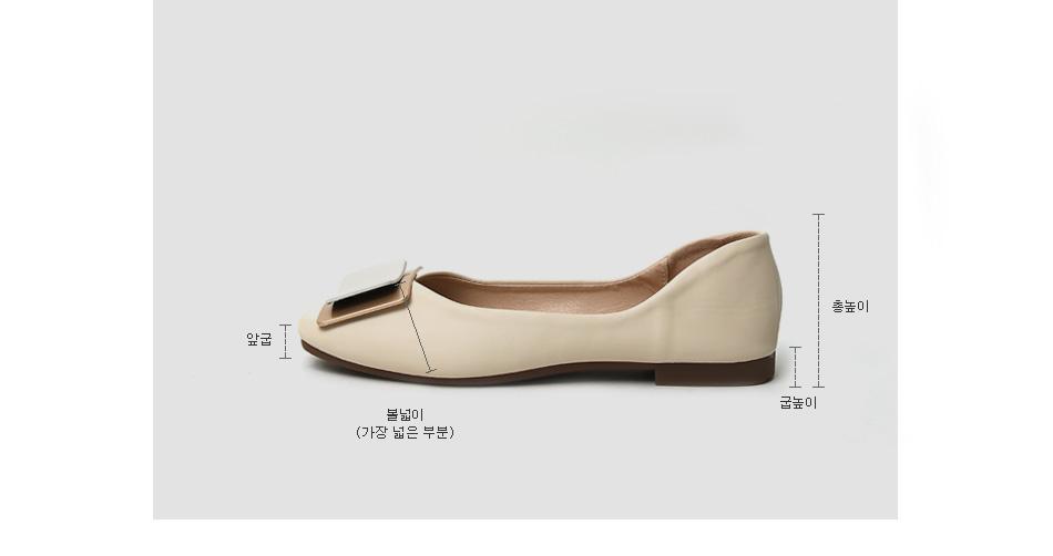 Benyl Flat Shoes 1cm