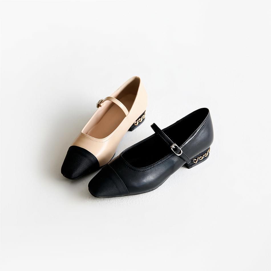 Juellen Mary Jane Flat Shoes 2cm