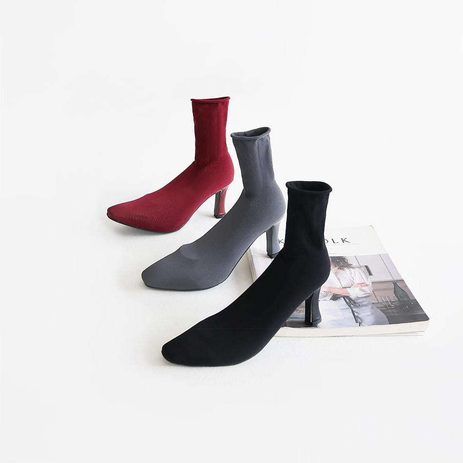 Decael Sox Ankle Boots 7cm