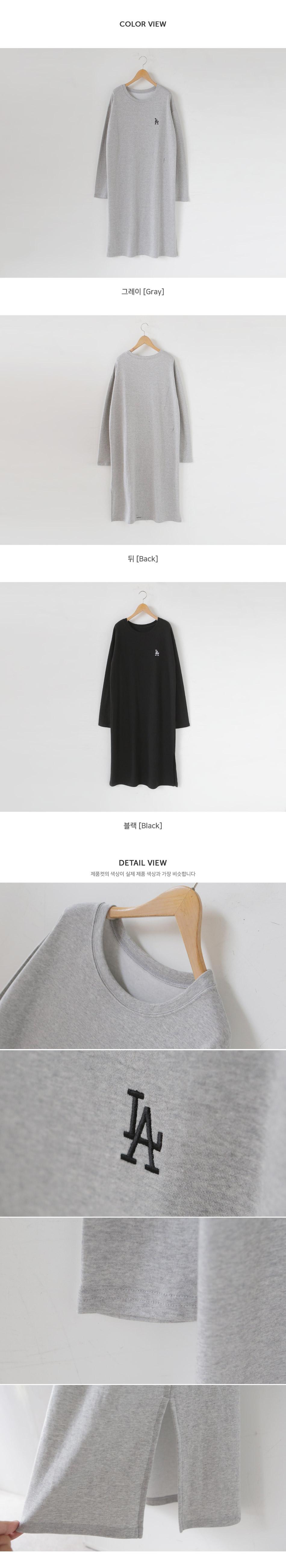 Mono LA Embroidery Long Dress 1 + 1