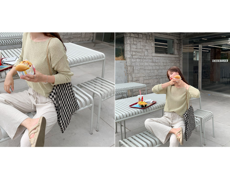 Cereal buckle basic knit 1 + 1