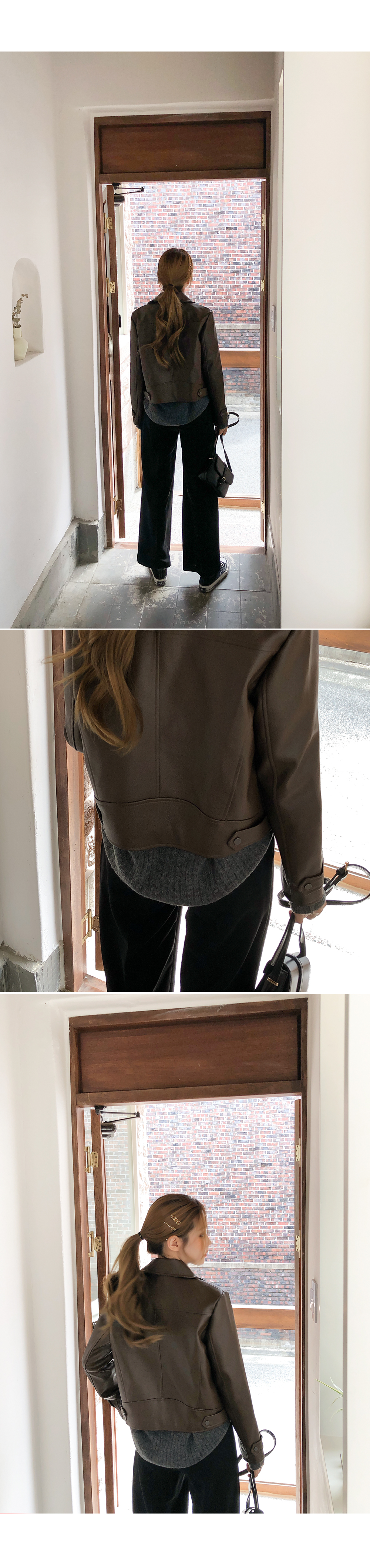 Warm knit cardigan