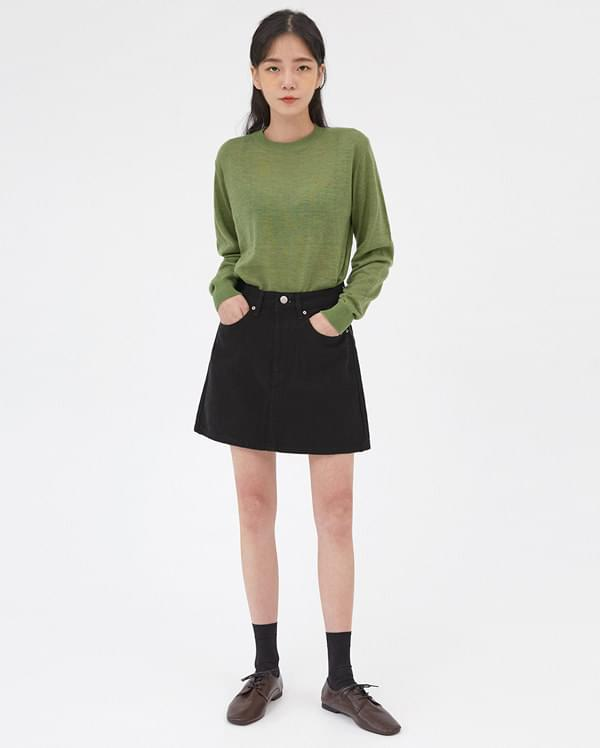 barley colorful round knit