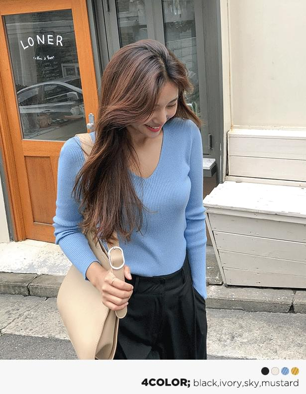 Melody Ribbed Knit