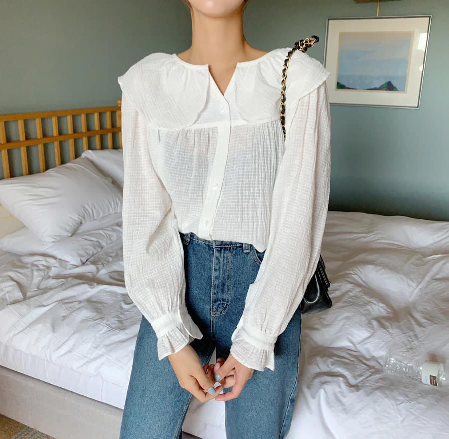Fruit color blouse