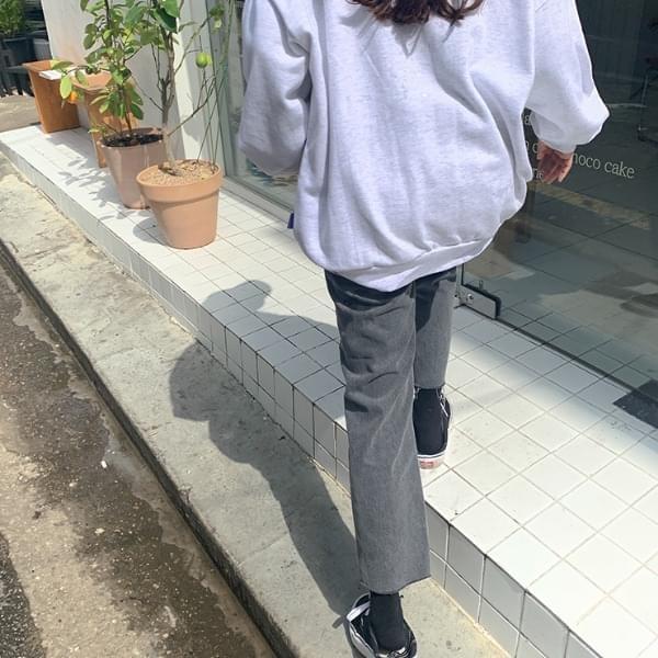 Berin gray denim pants