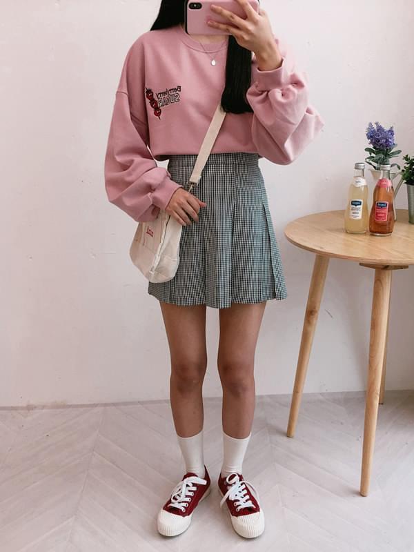 Mini pintail skirt