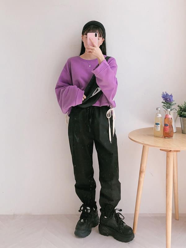 String jogger pants