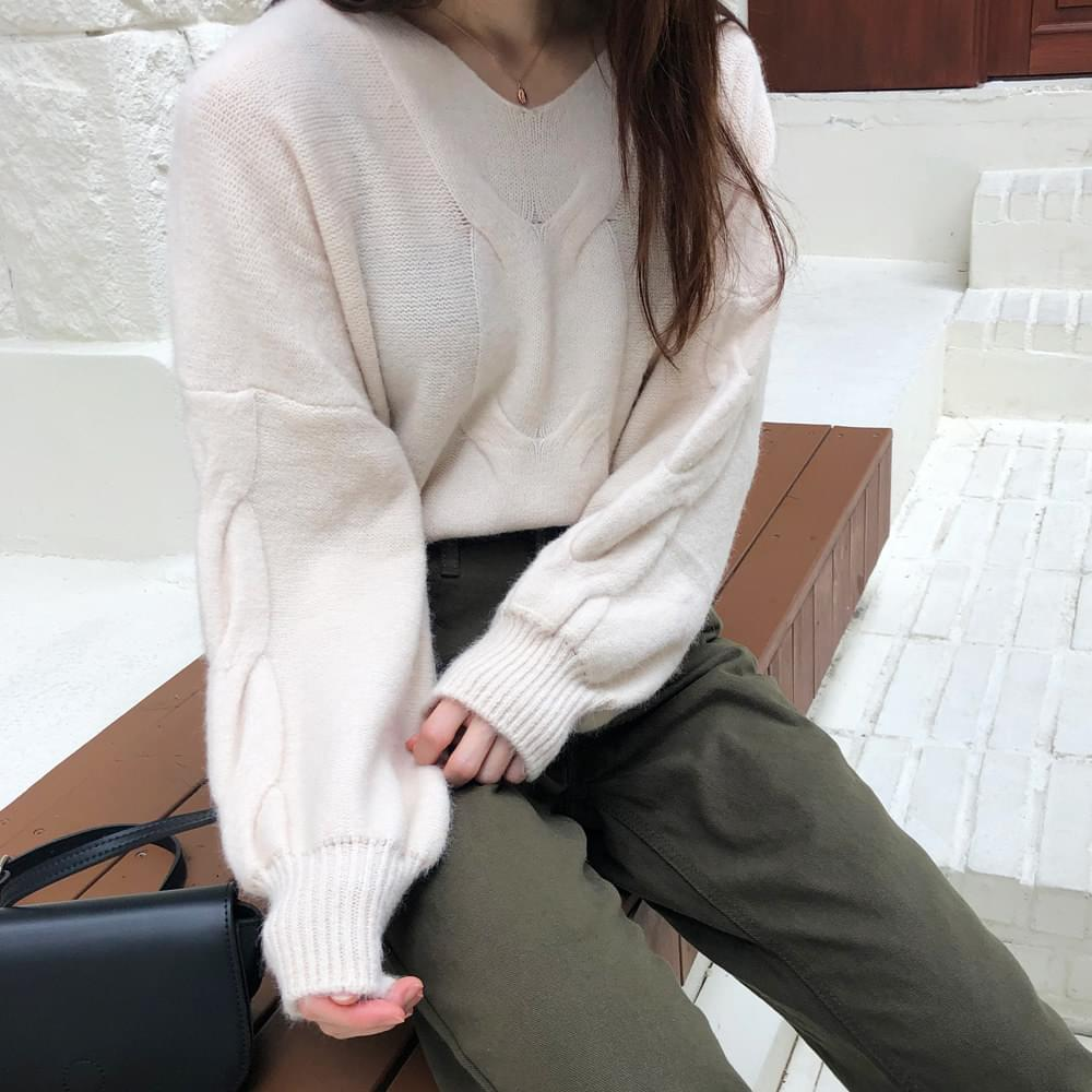 Fluffy Knit Exhaust Knit