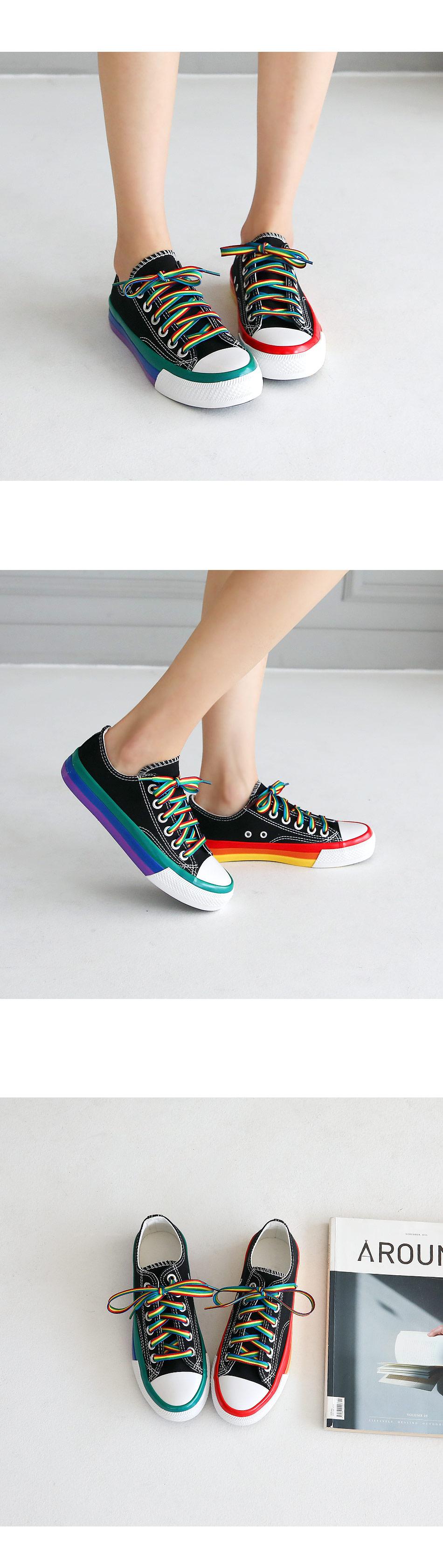 Rainbow sneakers 2cm