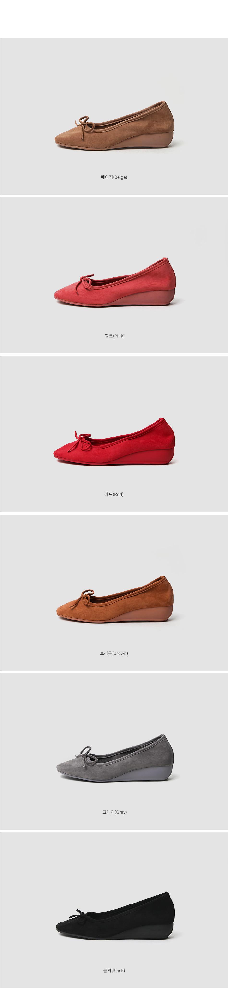 LECAEL Wedge Flat Shoes 3cm