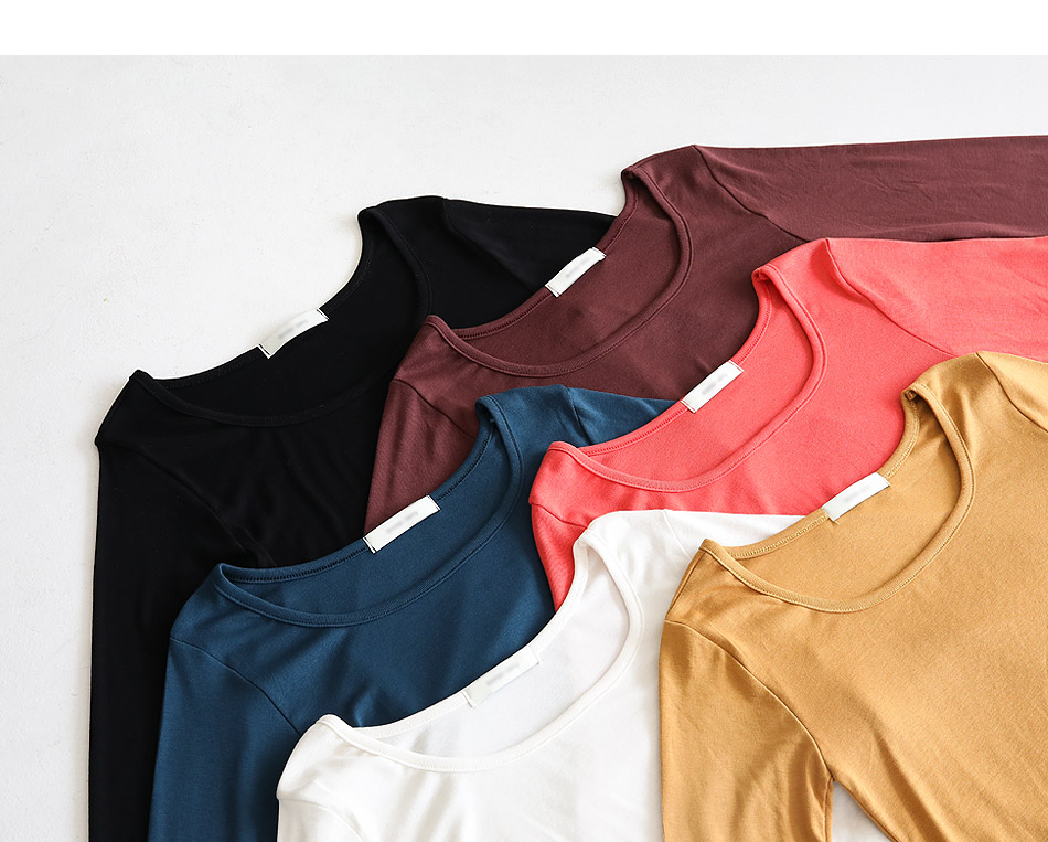 Rounded T-shirt