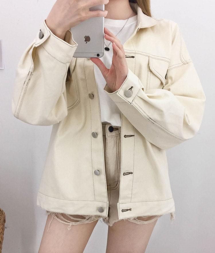 Boxy Stitch Jacket 夾克外套