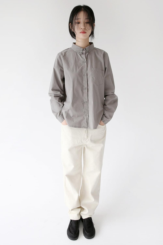 classic mood cotton pants
