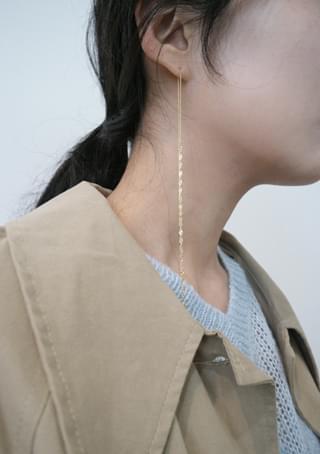 embellish maxi earring