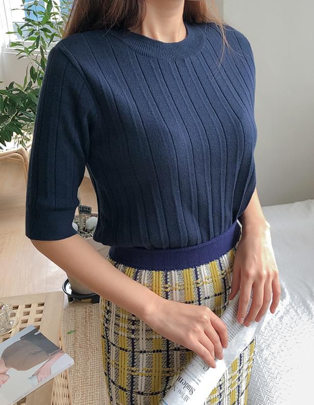 Roe simple knit