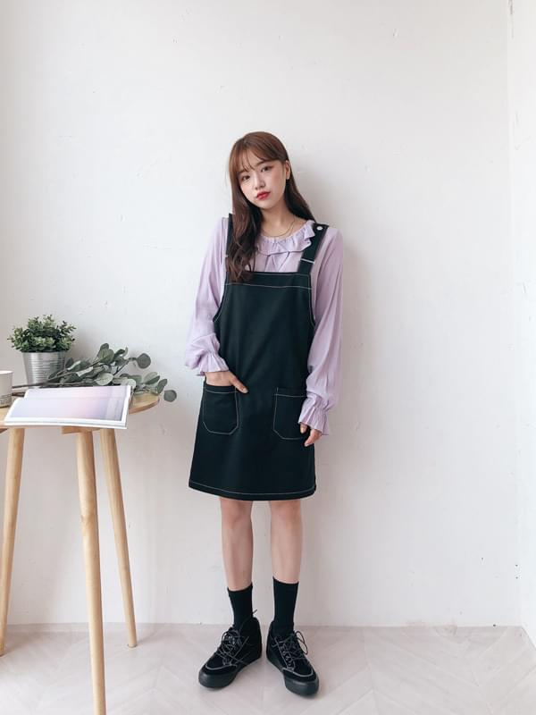 Enfant suspenders skirt