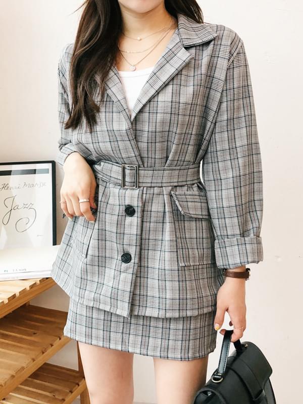 Ashley Belted Jacket