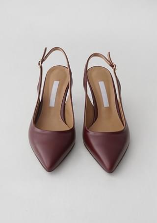 mood sling back heels (6colors)
