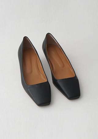 tidy square stiletto heels