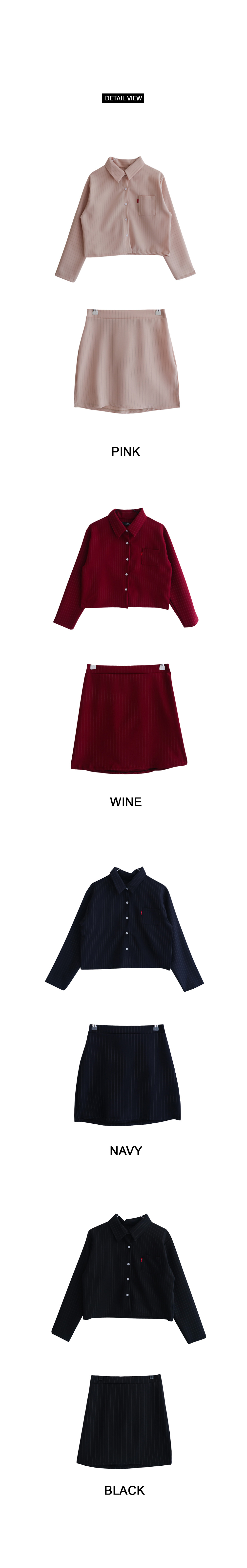 Kai Shirt Skirt SET