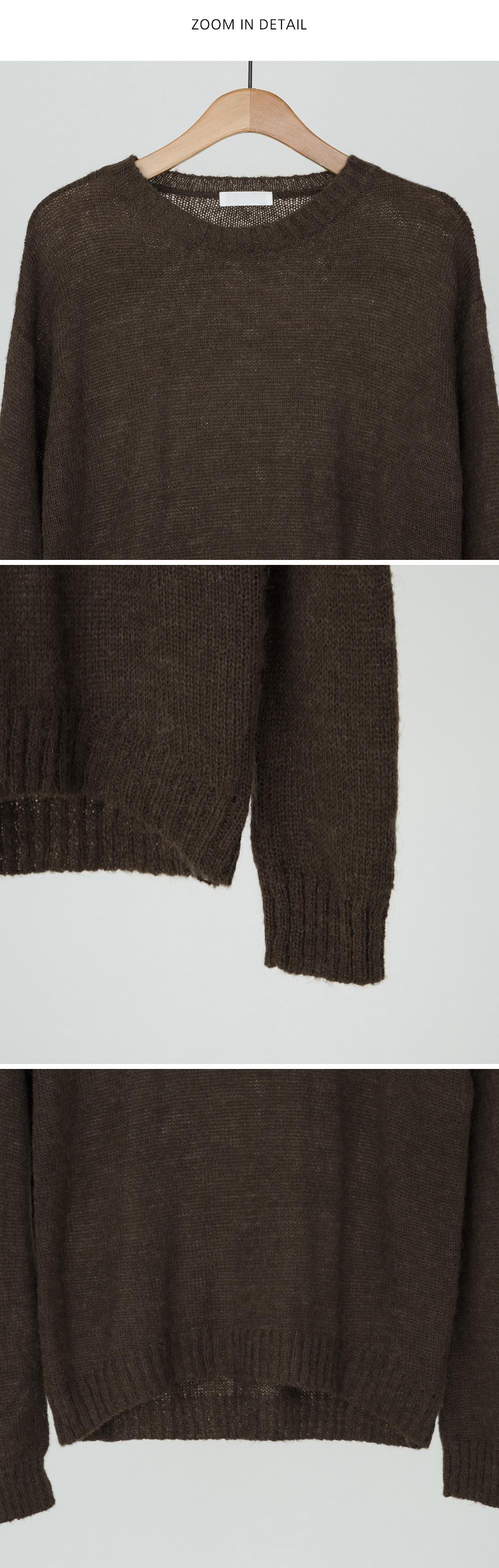 tone down round knit