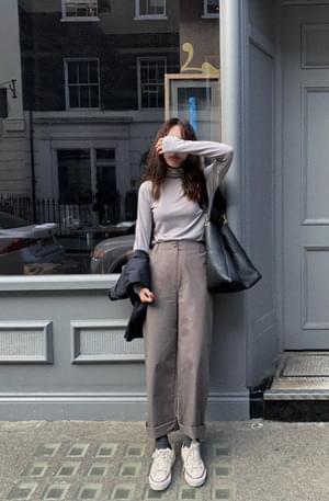 High density cotton chino pants