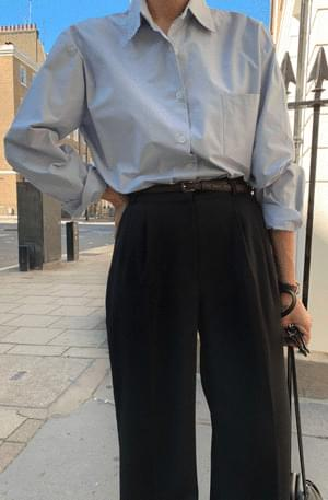Mellow Pocket Cotton Shirt