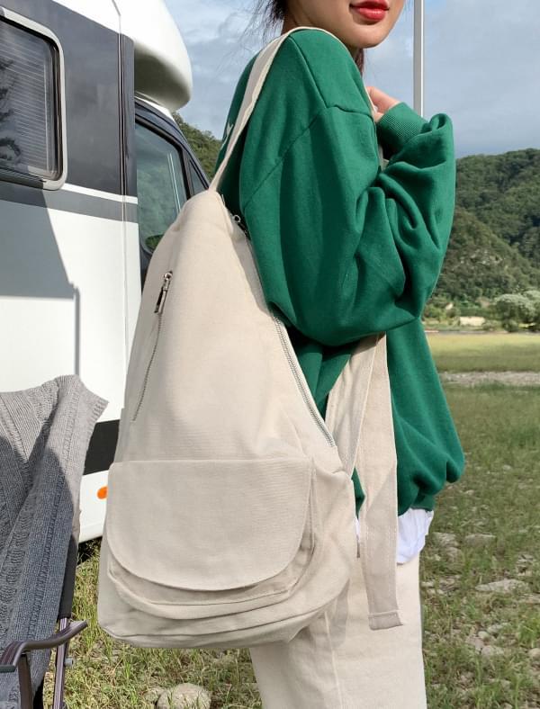 unique shape natural bag