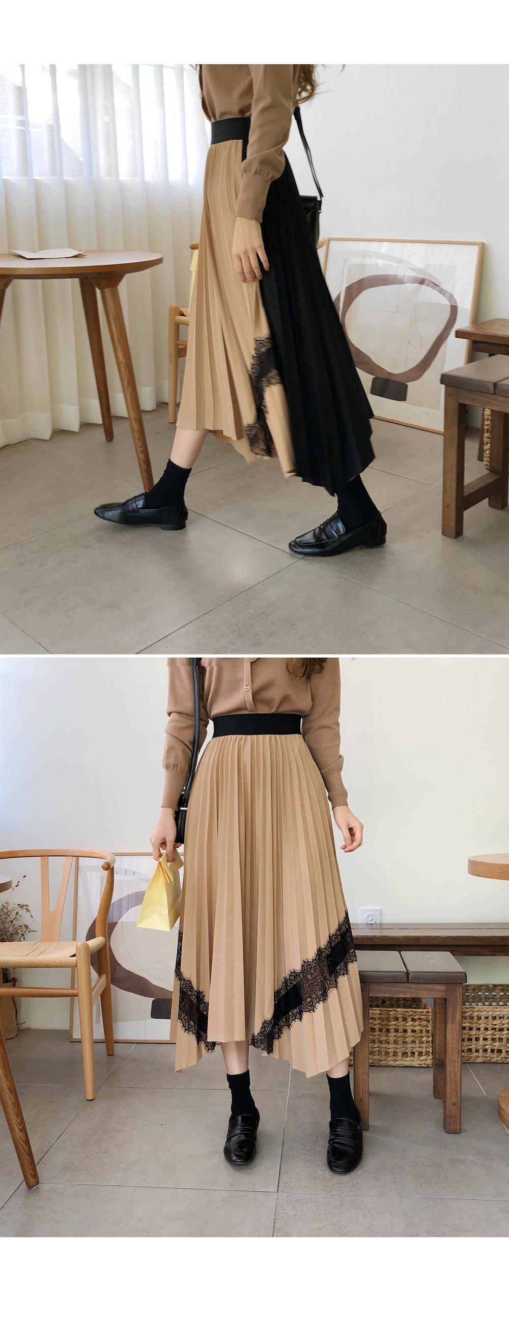 Race point color skirt