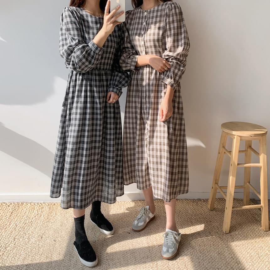 Button two way dress
