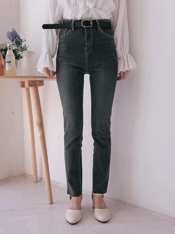 Van Hai Wash Skinny Denim Pants