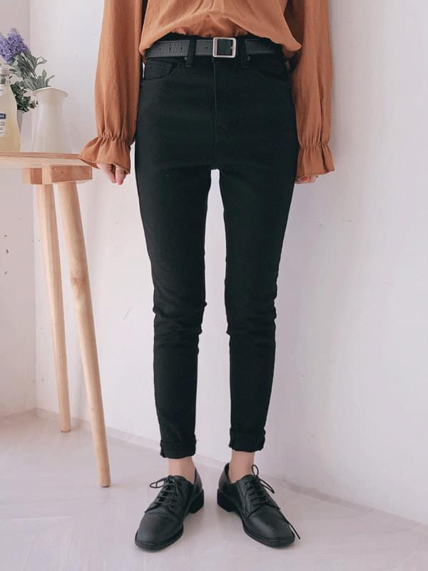 Cotton skinny long pants