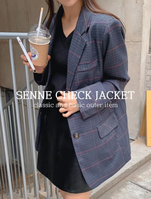 Seine Check Jacket _H