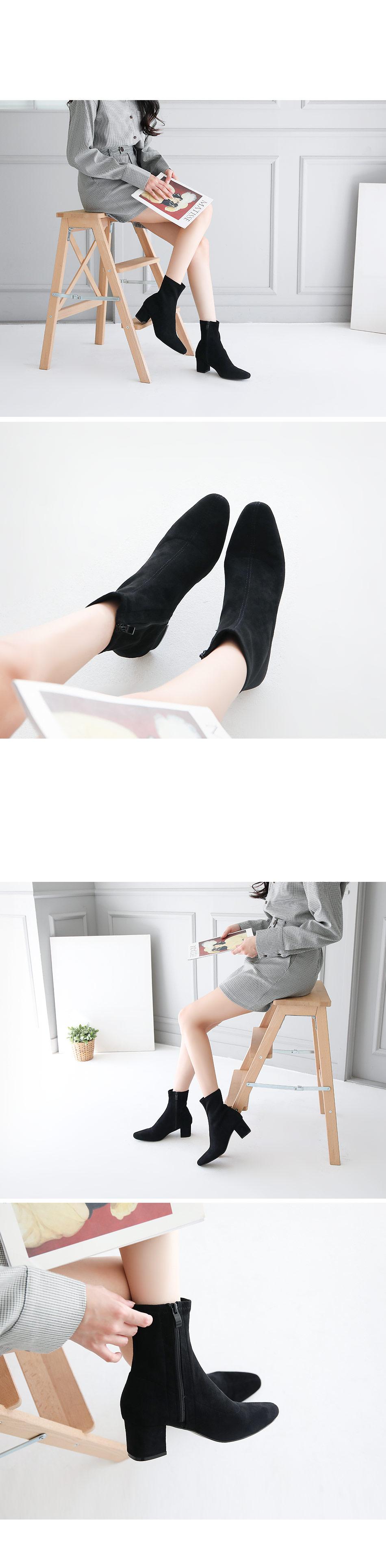 Lenbit Sox Ankle Boots 5cm