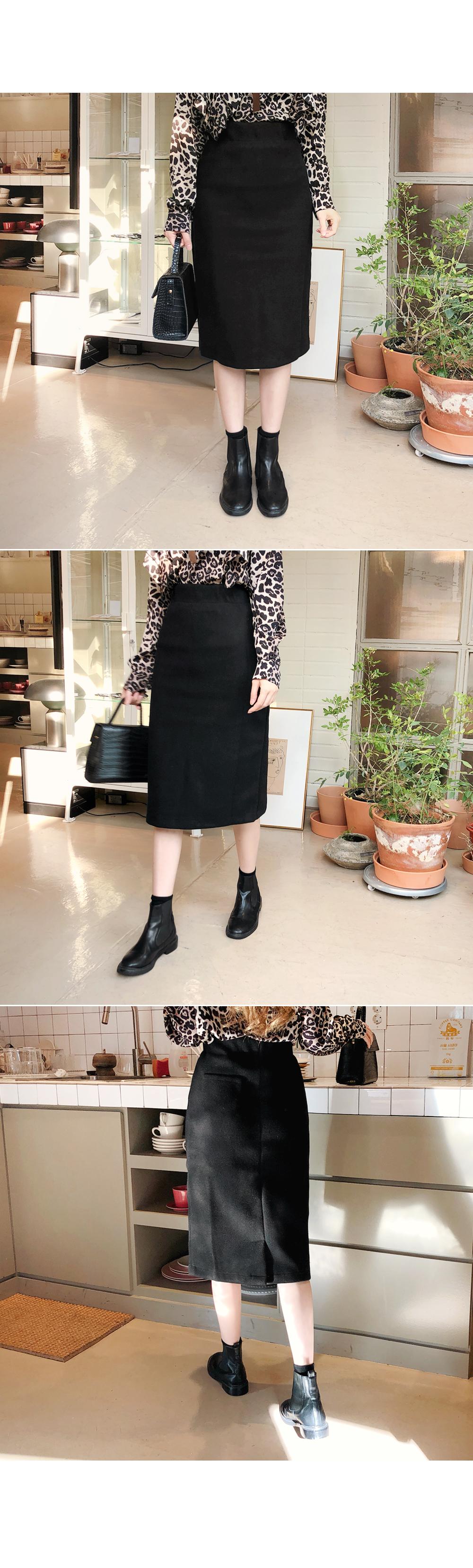 H-line back skirt