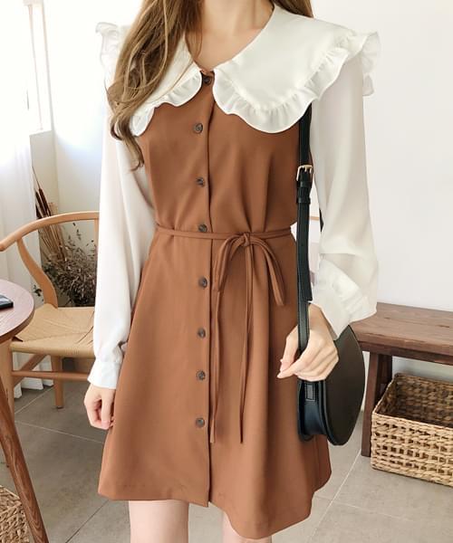 Big Color Point Dress