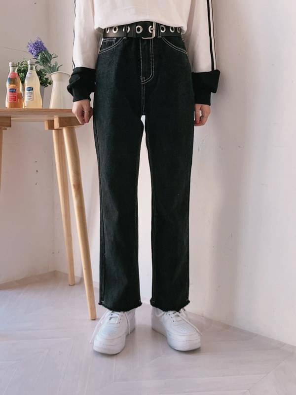 Basic wide long pants