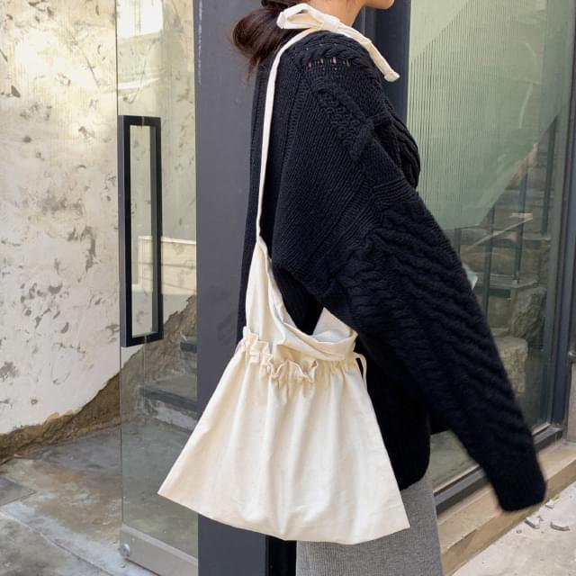 unique point cotton bag