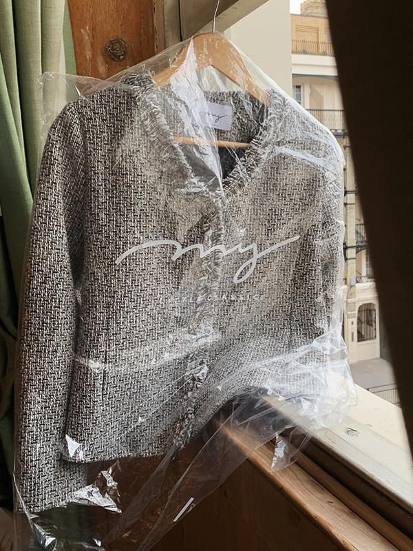 My-littleclassic / Crystal-tweed jacket