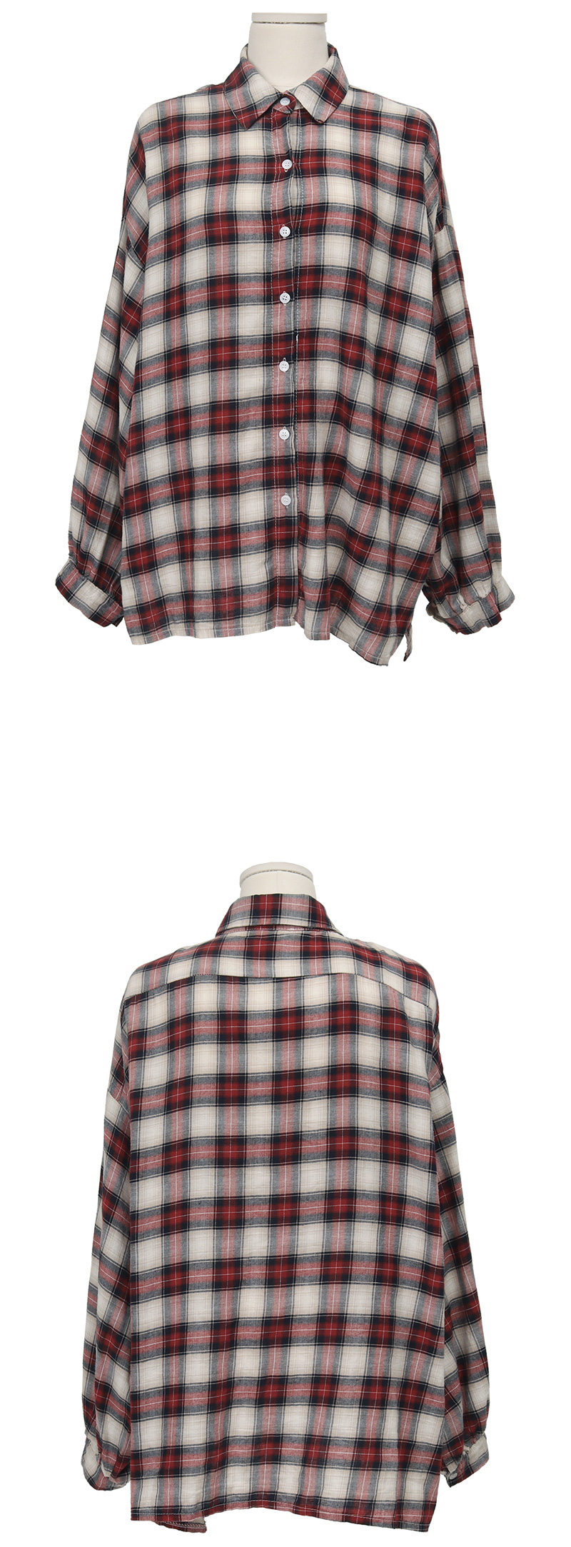 Alarm check shirts_C