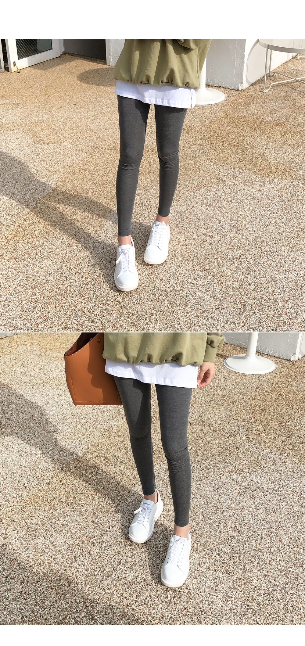 Simple skirt leggings