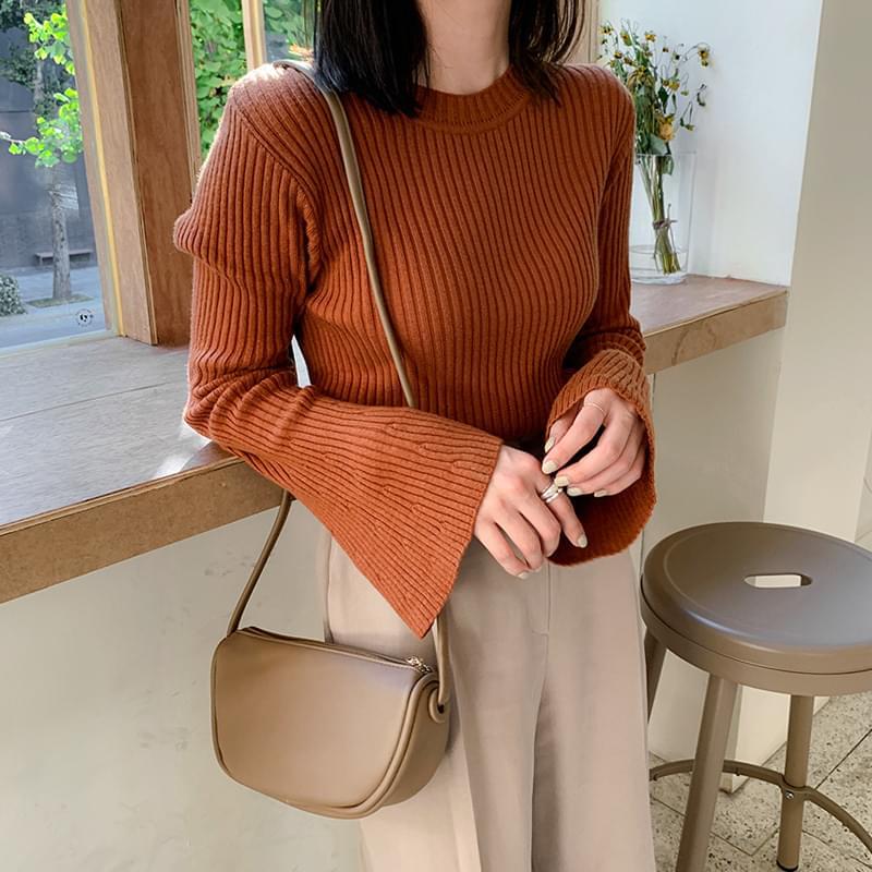 와이드 슬리브 knit (*4color) (인기상품 배송지연)