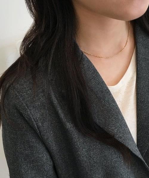 ovel necklace