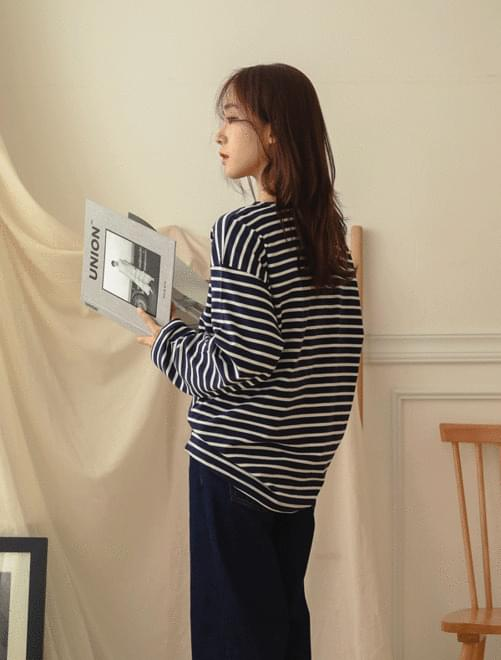 Bridge stripe T-shirt _Y