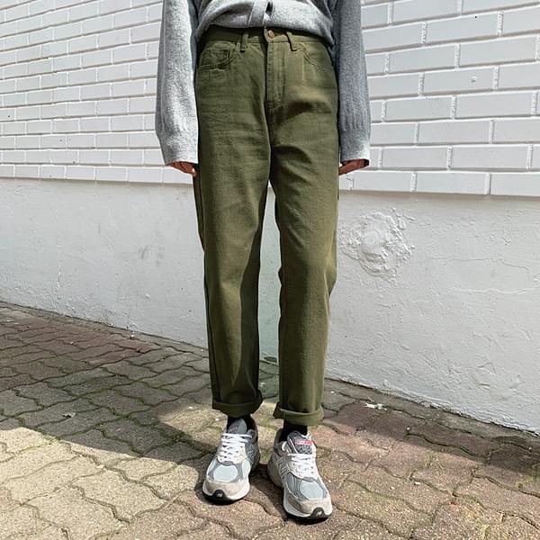 Greenery Cotton Pants