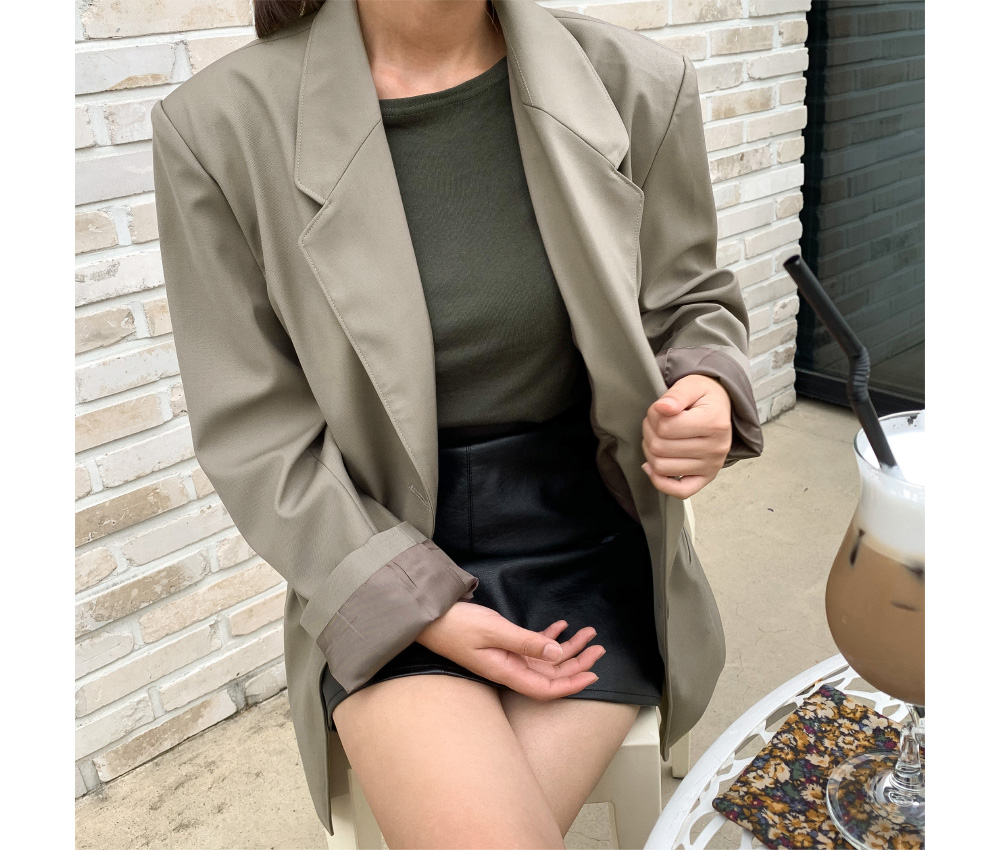 over fit tailored jacket