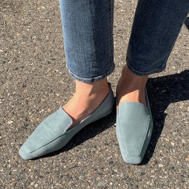 4 color slim shape loafer