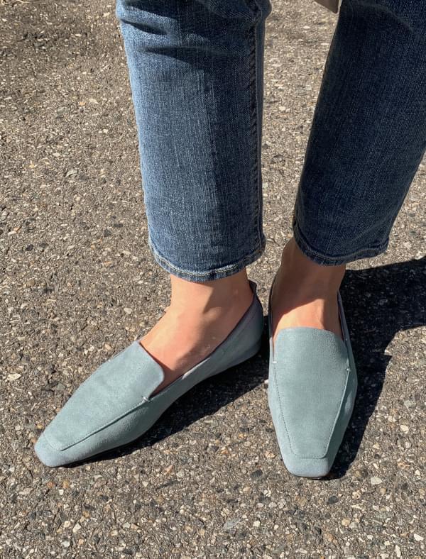 4 color slim shape loafer